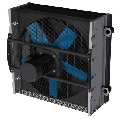 Теплообменник воздушно-маслянный HL HighLine 1508   230/400V asahydraulik маслоохладитель