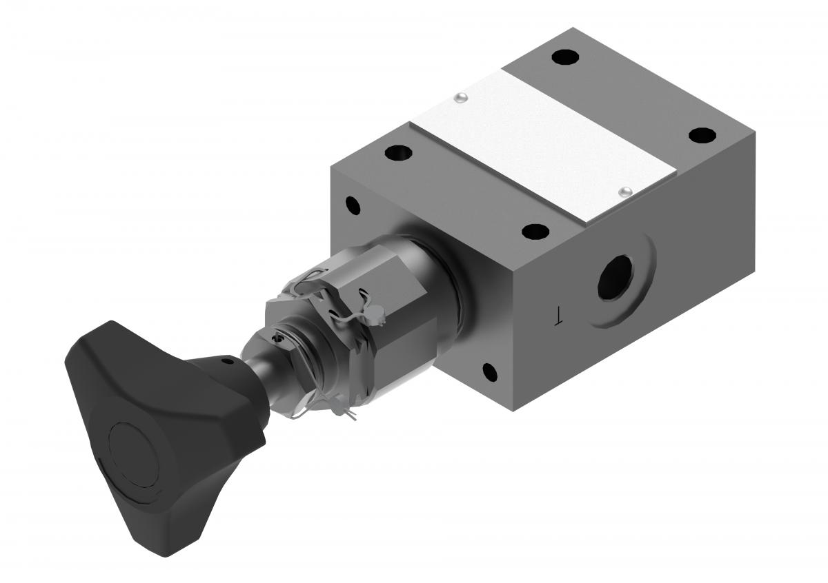 Предохранительный клапан непрямого действия DBD/C Ponar купить гидроклапан