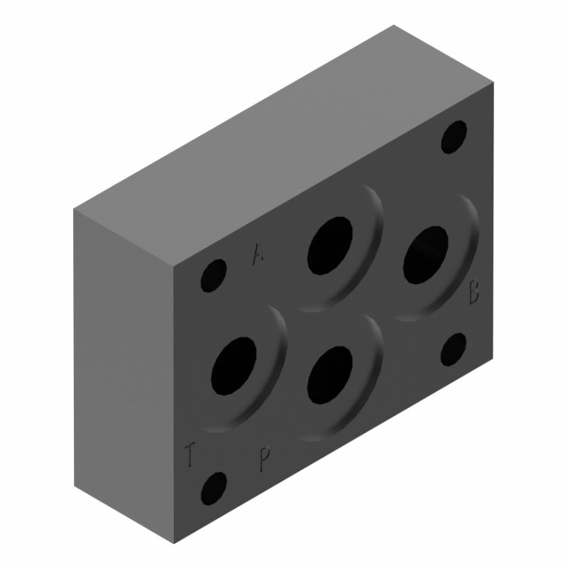 Монтажная плита для гидрораспределителя G115/01 Ponar купить