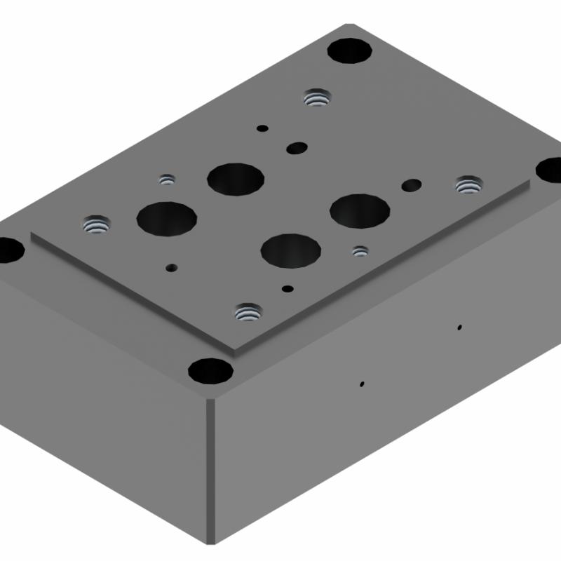 Монтажная плита для гидрораспределителя G174/01 купить понар ponar