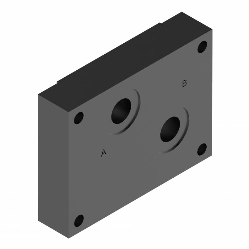 Монтажная плита для регулирующего клапана G279/01 G280/01 ponar купить