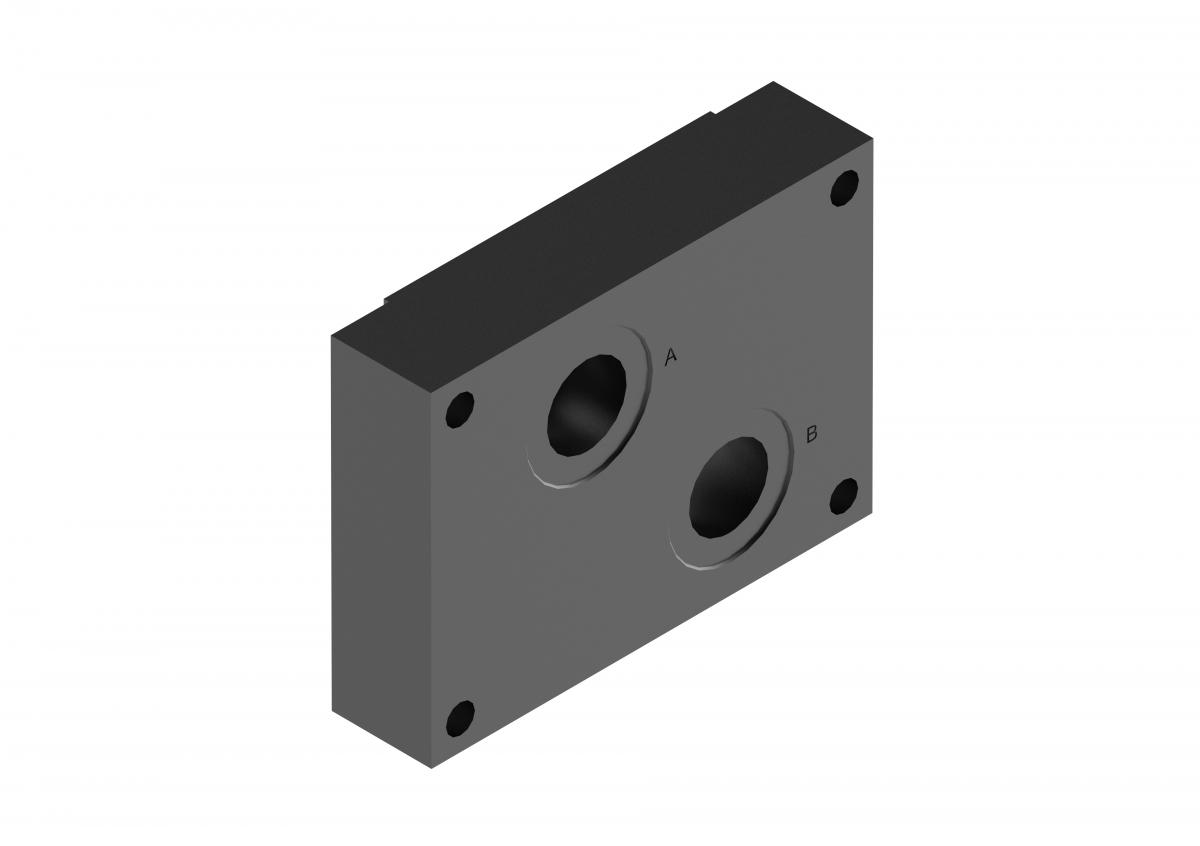 Монтажная плита для регулирующего клапана G281/01 G282/01 купить ponar