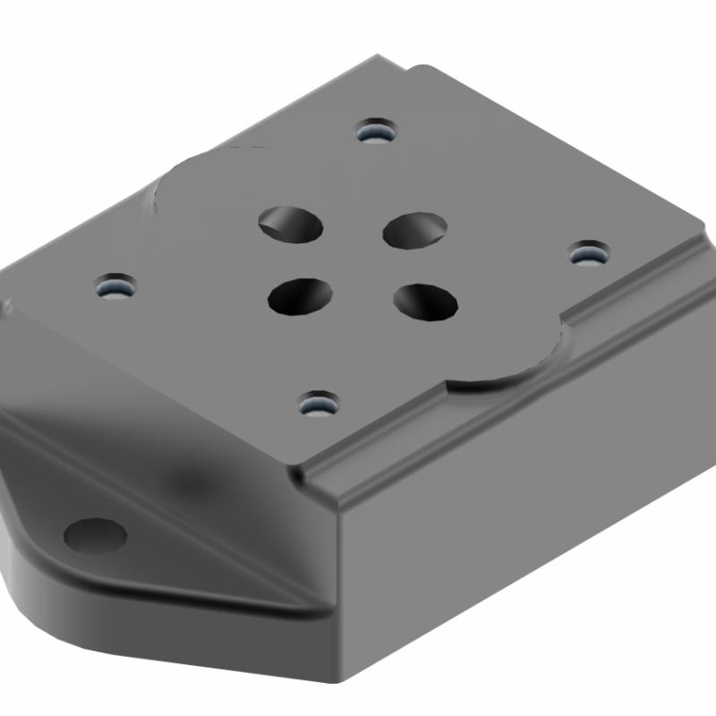 Монтажная плита для золотникового клапана G341/01, G342/01, G502/01 купить