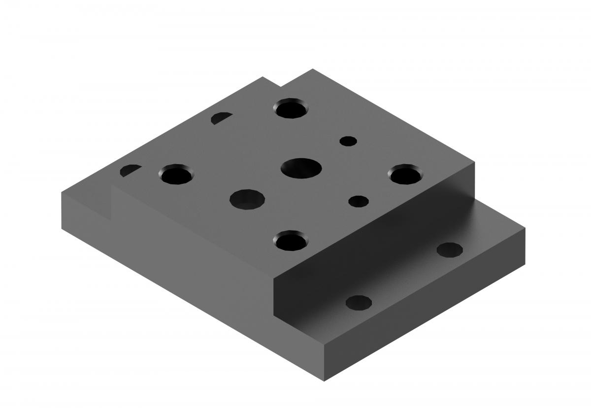 Монтажная плита для предохранительного клапана G407/01 купить ponar