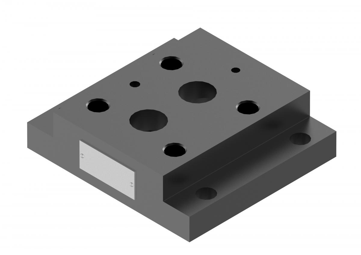 Монтажная плита для предохранительного клапана G409/01 купить ponar