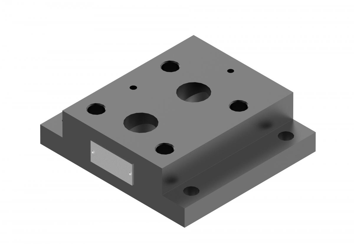 Монтажная плита для предохранительного клапана G411/01 купить ponar