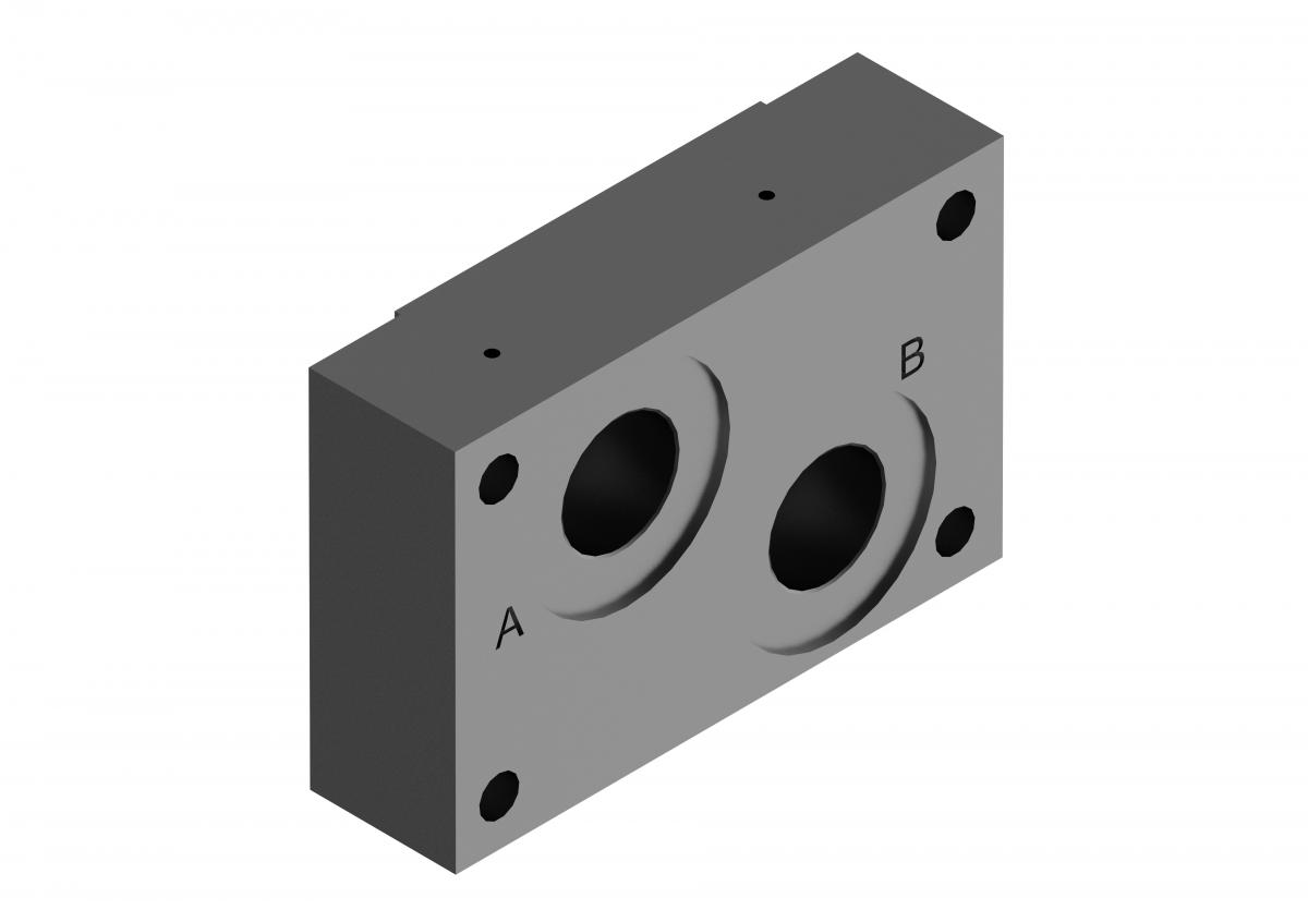 Монтажная плита для регулирующего клапана G45/01 ponar купить