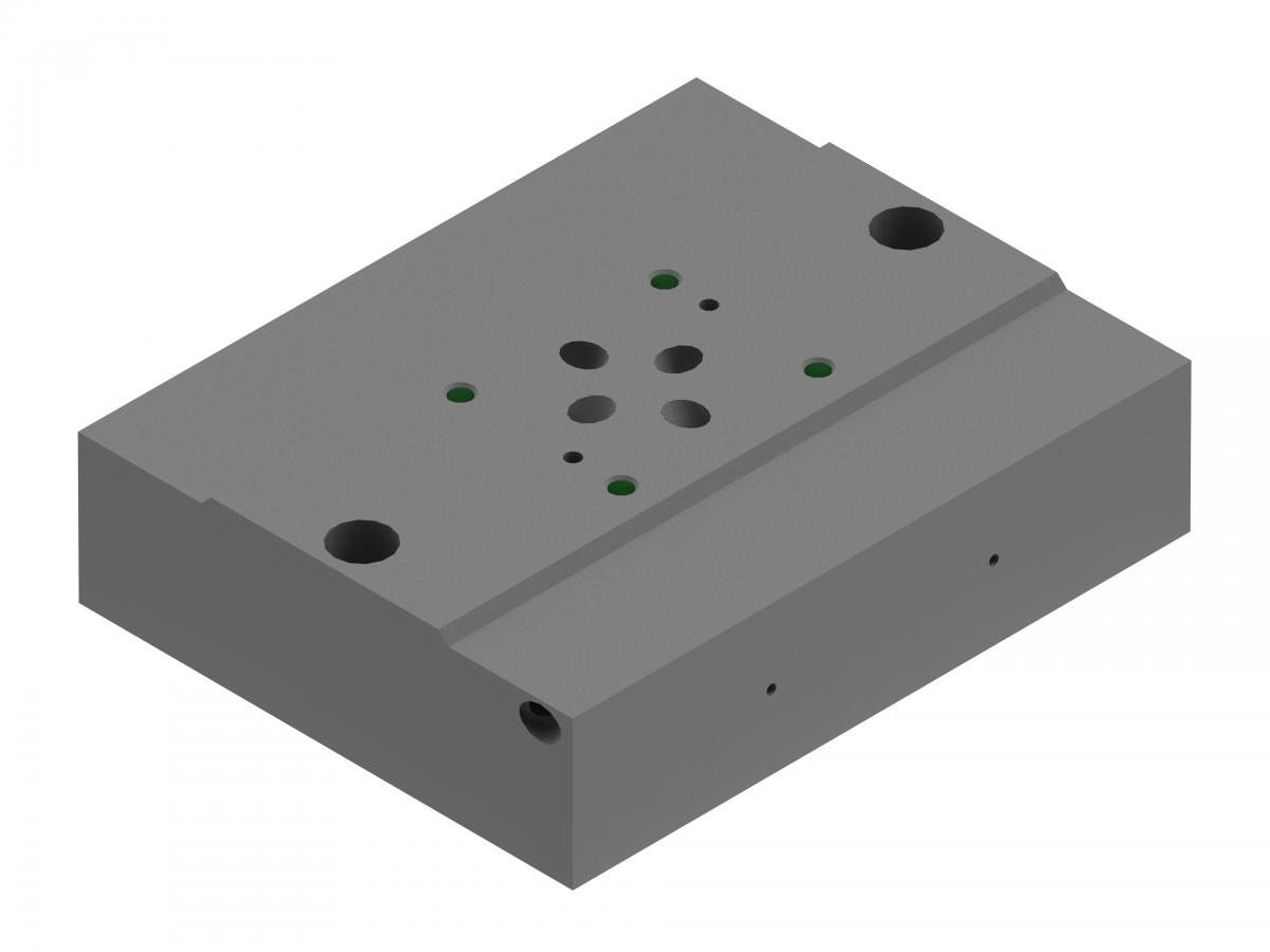 Монтажная плита для гидрораспределителя G512/01 ponar купить понар