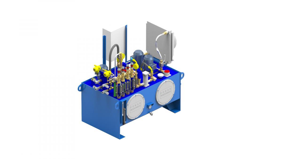 Гидростанция смазки подшипников UHWP Ponar Wadowice