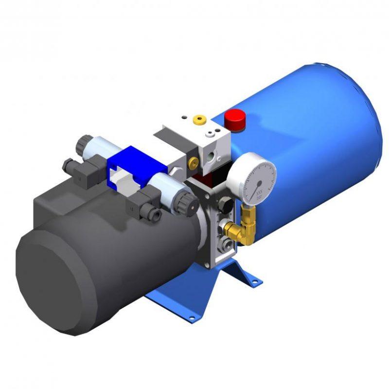 Гидростанция компактная UHKZ Ponar Wadowice мини маслостанция купить