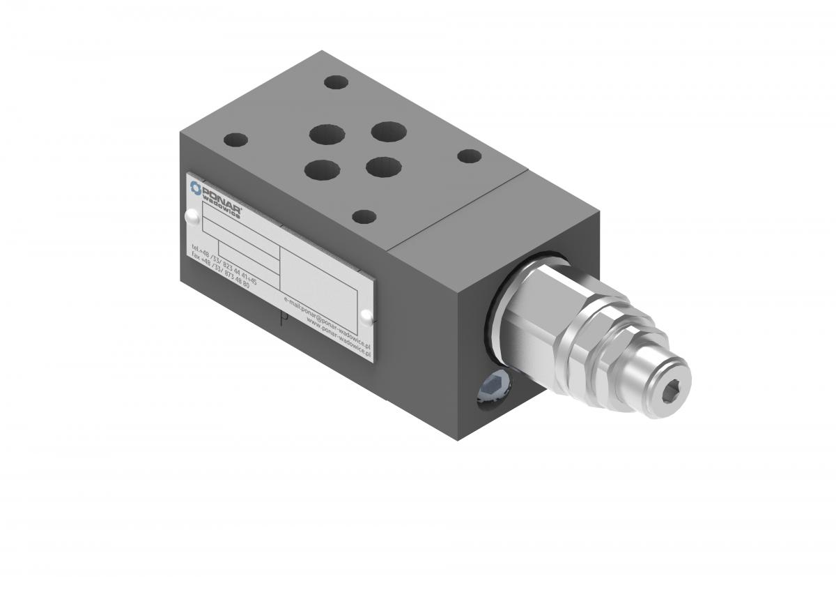 Передохранительный клапан модульного монтажа UZPR Ponar купить гидроклапан