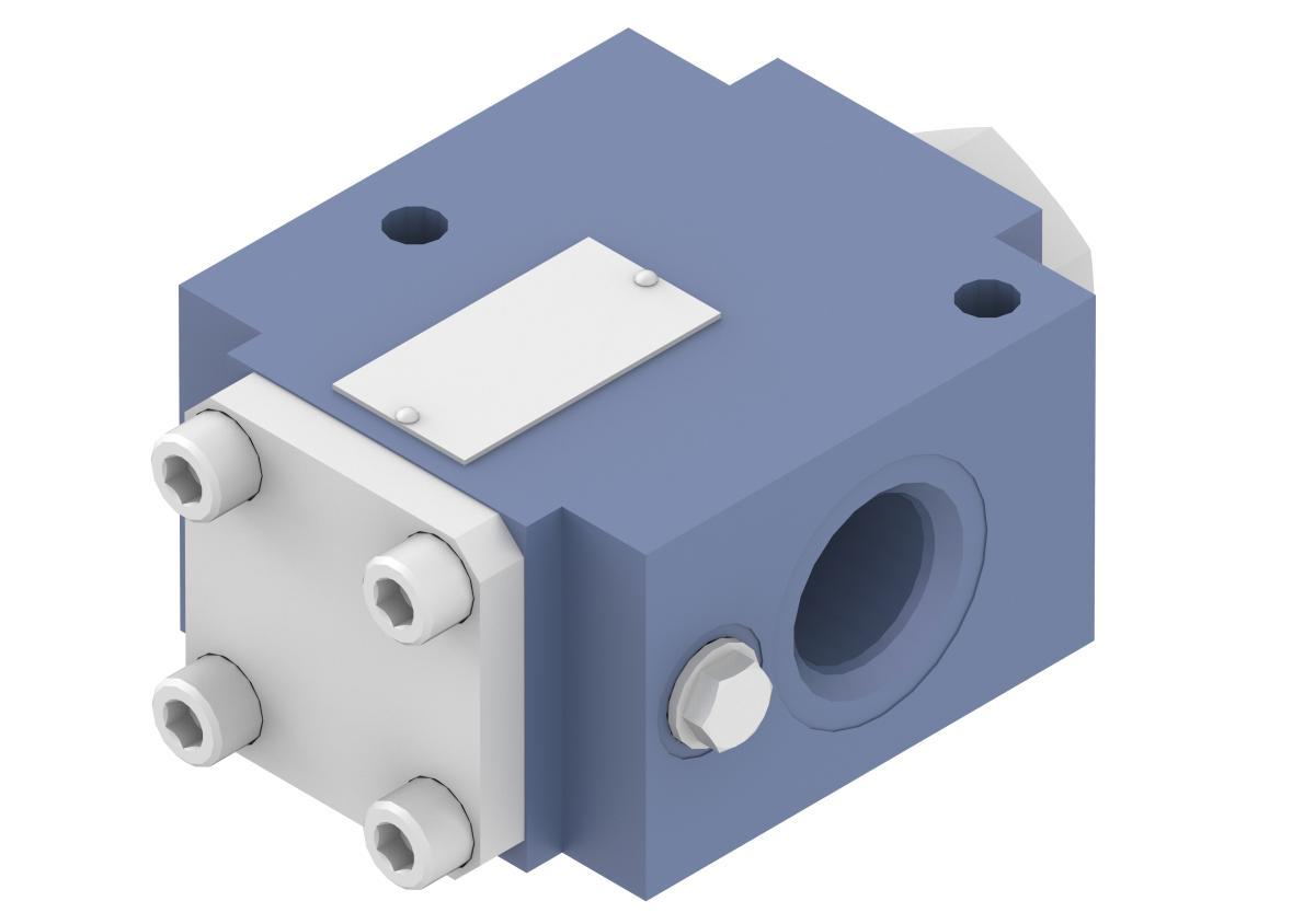 Обратный клапан регулируемый UZSG16 Ponar