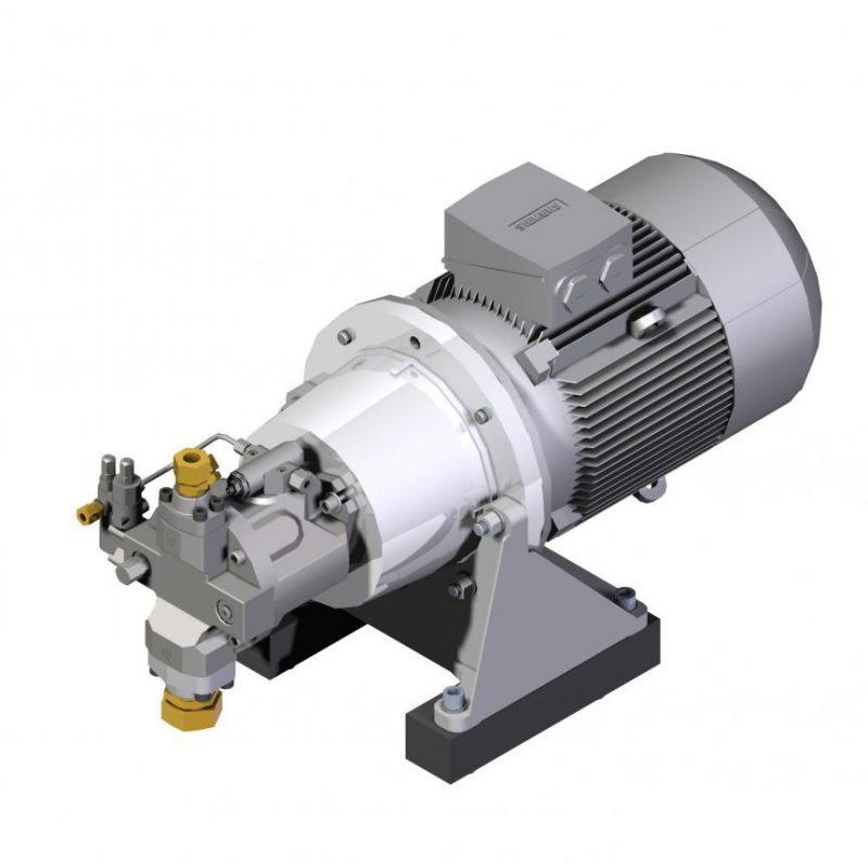 Насосные агрегаты с поршневыми насосами ZPPT Ponar