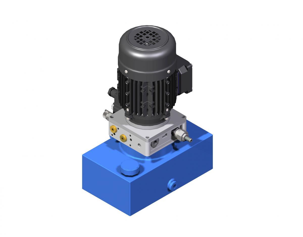 Гидростанция компактная UHWZ Ponar Wadowice мини маслостанция купить